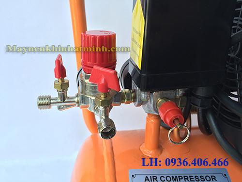 Máy nén khí mini có dầu 2hp 24lit