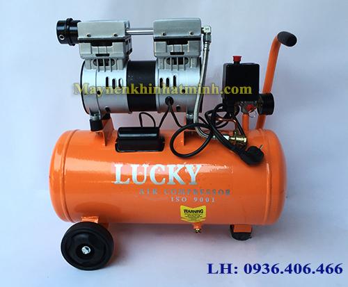 Hình ảnh máy nén khí mini giảm âm 1hp 30lit