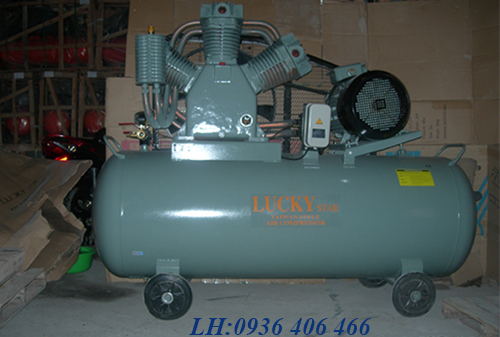 máy nén khí 2 cấp 220l