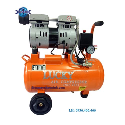 máy nén khí không dầu 0.75hp 18l