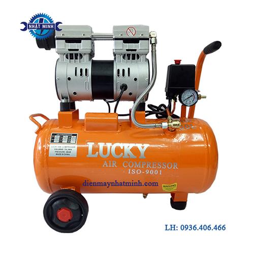máy nén khí mini không dầu 1hp 30l