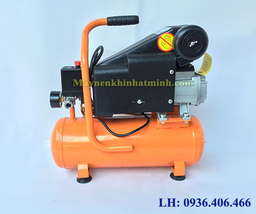máy nén khí mini có dầu 9lit 1HP