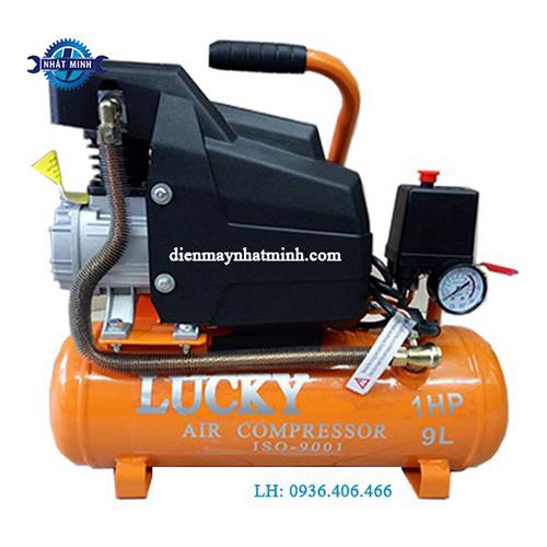 máy nén khí mini gia đình 9l có dầu