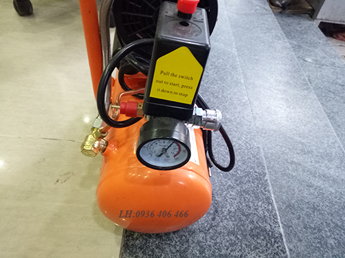 Máy nén khí mini giảm âm 9lit