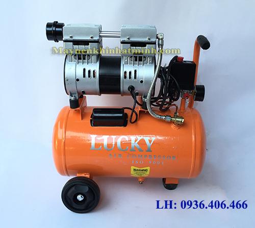 Máy nén khí mini không dầu 18lit