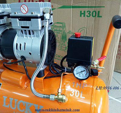 máy nén khí mini không dầu 1hp 30lit