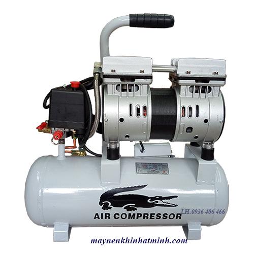 máy nén khí mini không dầu 9lit