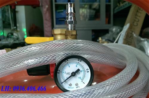 Đồng hồ chỉnh áp bình bọt tuyết sắt