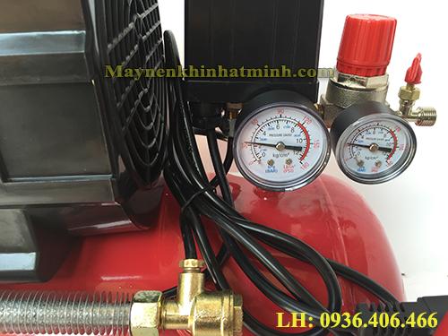 máy nén khí mini có dầu 1/2HP 24lit Super Air