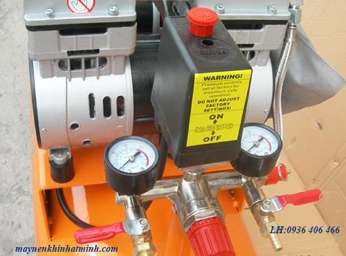 máy nén khí không dầu 3hp 90lit