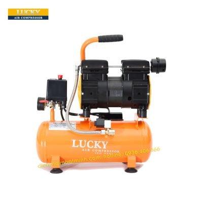 Hình ảnh máy nén khí không dầu 9 lít Lucky