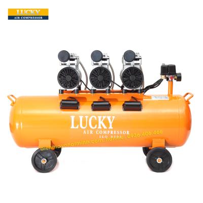 Máy nén khí Lucky không dầu 90 lít 3HP