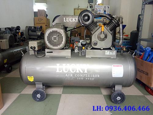 máy nén khí công nghiệp 150L 2 cấp 5.5HP Lucky