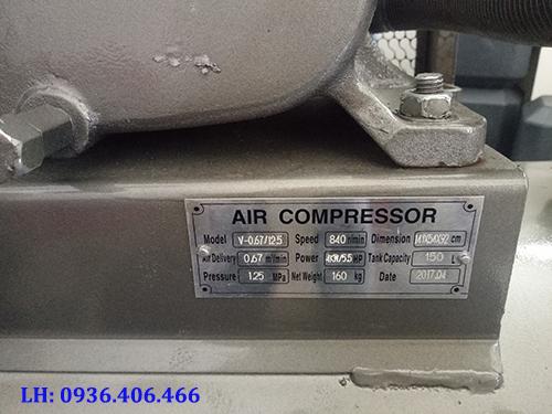 máy nén khí 150L