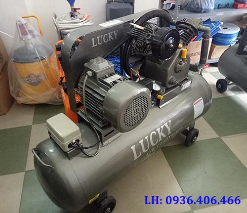 Máy nén khí công nghiệp 2 cấp 5.5HP 150L Lucky