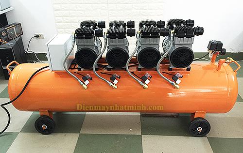 Chiếc máy nén khí không dầu cỡ lớn mang nhiều công năng, tác dụng