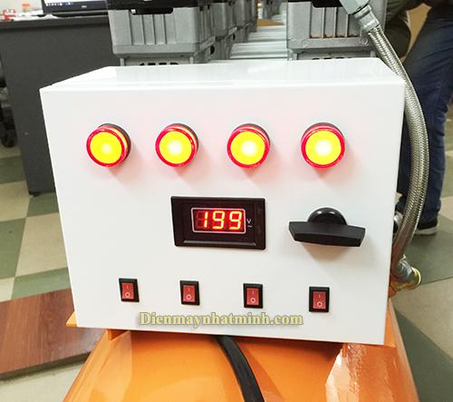 máy nén khí không dầu 8HP 180lit