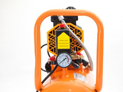 Đồng hồ và 1 số chi tiết khác trên máy nén khí 24l không dầu