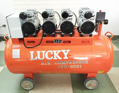 Máy nén khí không dầu 4hp 180lit