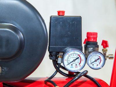 Cụm đồng hồ và áp an toàn máy nén khí mini 24 lít Finy