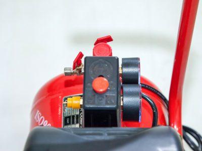 máy nén khí mini 24 lít Finy an toàn khi sử dụng