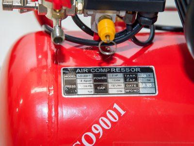 Thông số kỹ thuật máy nén khí mini 24 lít Finy