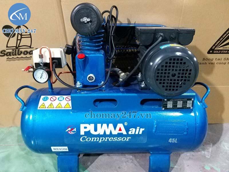 Ứng dụng máy nén khí 1/4hp 45 lít Puma
