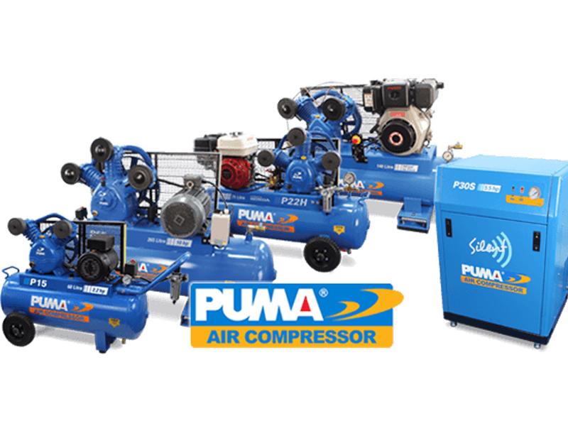 Tổng kho cung cấp máy nén khí Puma chất lượng cao