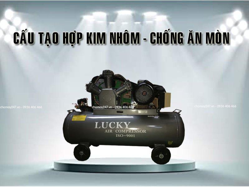 Máy nén khí không dầu 300 lít 10Hp Lucky độ bền cao