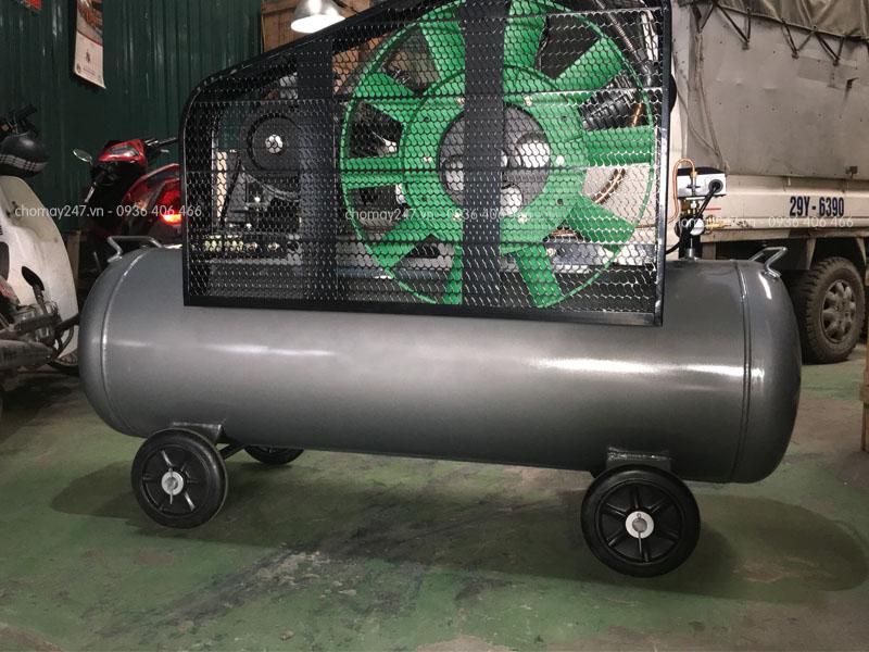Máy nén khí không dầu 300 lít 10Hp Lucky vệ sinh, bảo dưỡng đơn giản