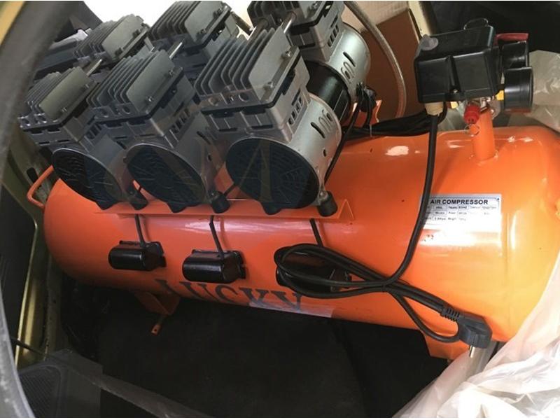 Bán máy nén khí không dầu 150 lít 6 hp chính hãng