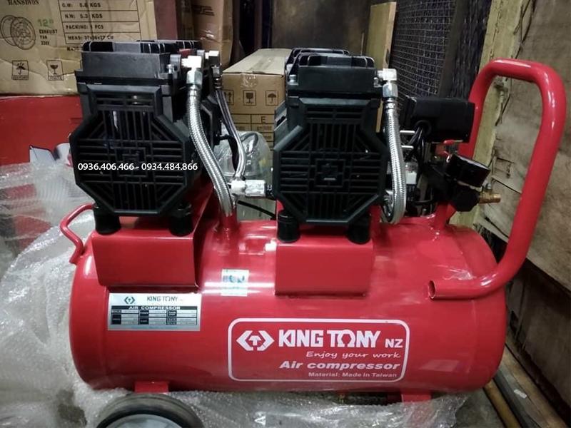 Máy nén khí không dầu 70 lít Đài Loan King Tony độ bền cao
