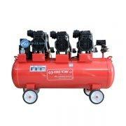 Máy nén khí không dầu 110 lít 7,5hp đài loan king tony ki-110c/f-3 chính hãng