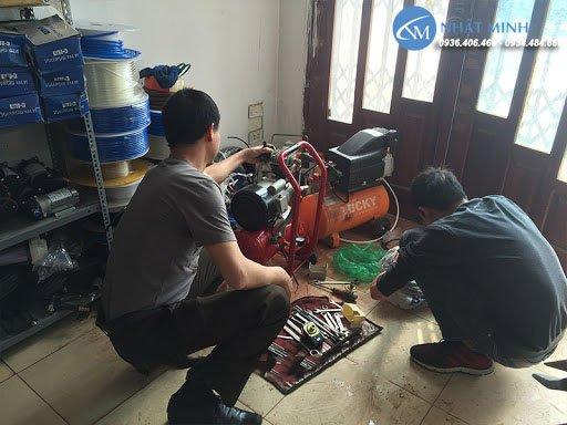 Giá dịch vụ sửa máy nén khí các loại, chi tiết