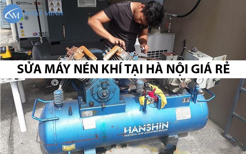 Sửa máy nén khí giá rẻ tại hà nôi, uy tín, chất lượng